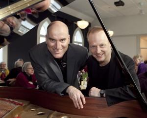 Martin Guldberg og Mats Rudklint (th)